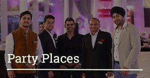 banquet halls, wedding venues