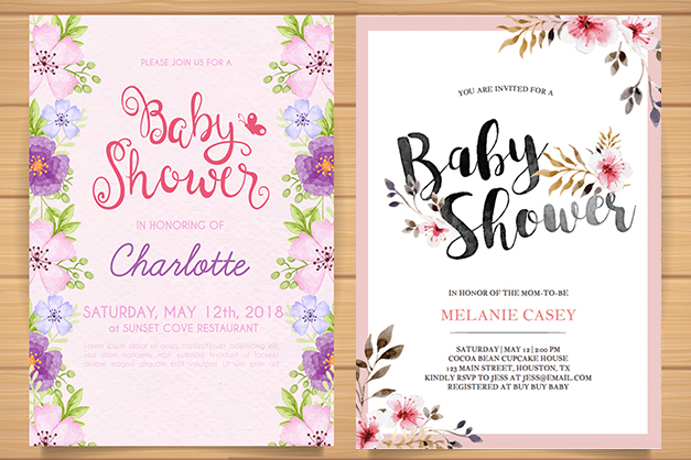 how to choose Baby shower invitations