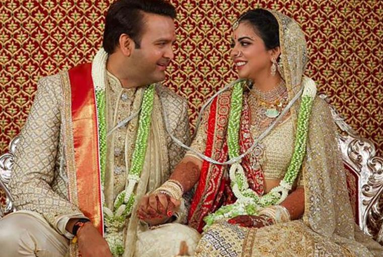 Isha Ambani and Anand Piramal