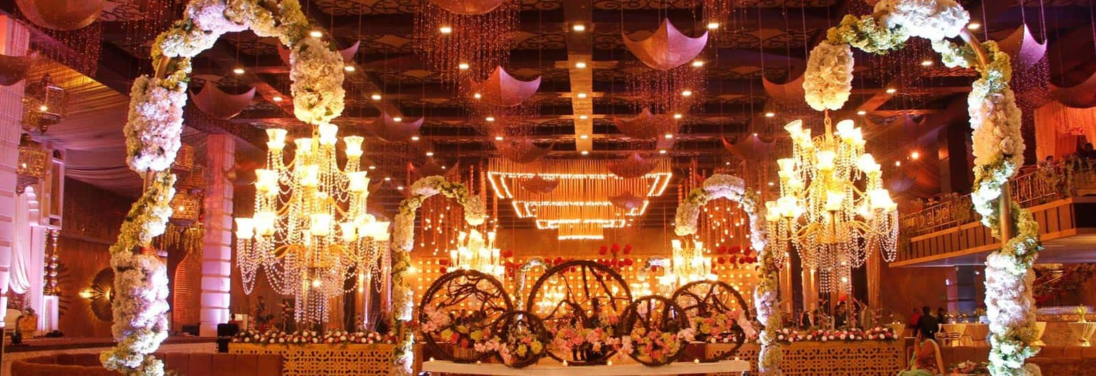 Luxury banquet hall image by FNP Gardens