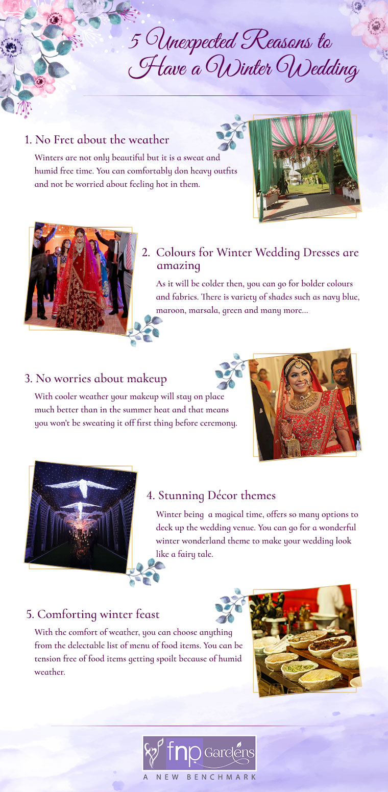 Reasons to have a winter wedding