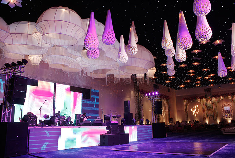 Chand Bagh Entertainment Stage