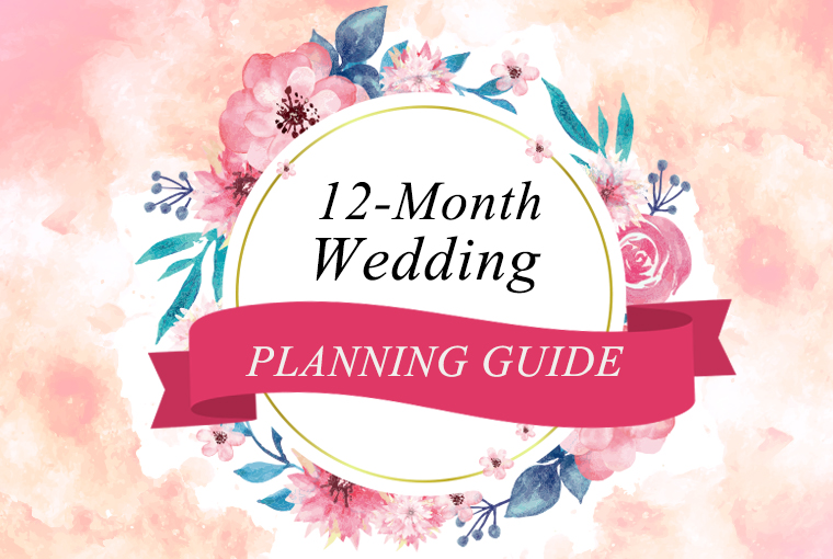 12 Month Wedding Planning Guide