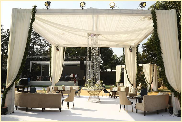 lawn for Summer Wedding venues