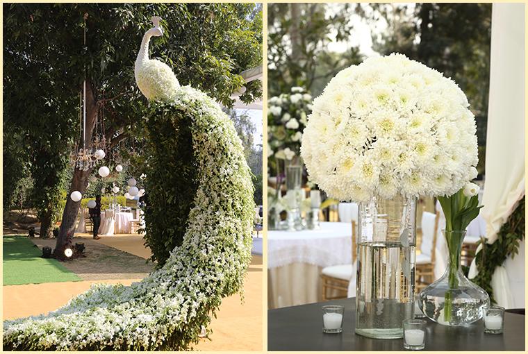 Summer Wedding venues decor