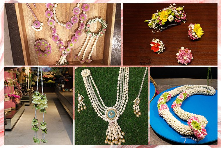 Where to buy Floral Jewellery in Delhi NCR?