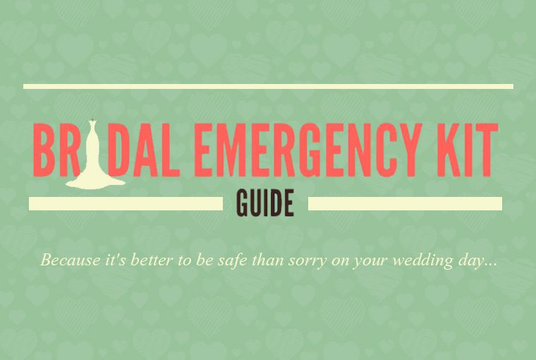 What are the must haves in an Indian Bridal Emergency Kit?