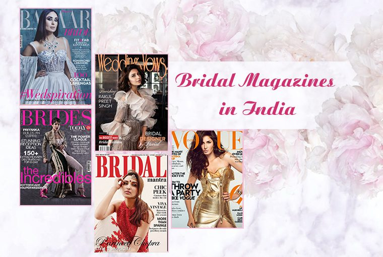 Top 5 Wedding Magazines To Read For Your Wedding Planning