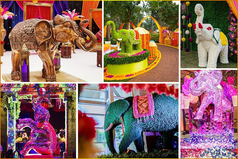 Stunning Ways to Add Elephants in your Wedding Décor!