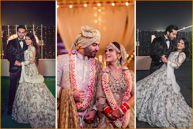 A Grand Delhi Wedding with the Super Fun Bride