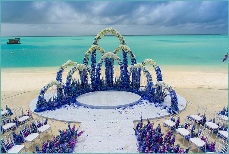 Beach weddings in Maldives