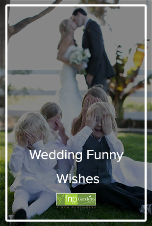 Wedding funny wishes