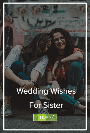 Wedding Quotes for sister