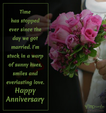 Anniversary wishes for parents from son