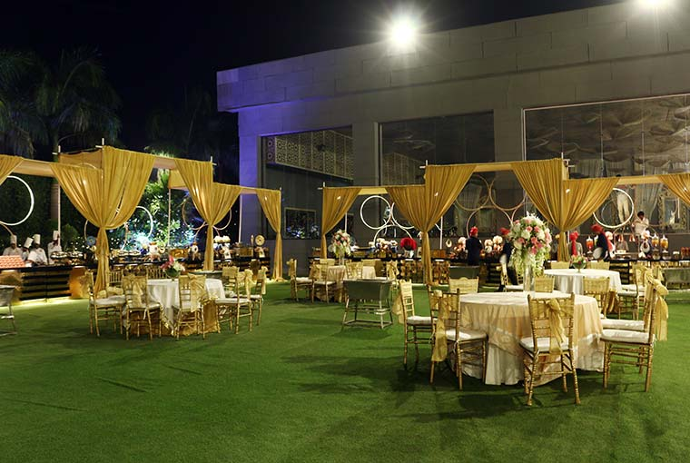 Garden Wedding at Pavilion by Ferns N Petals