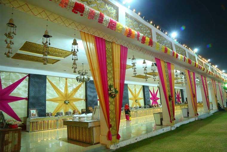 banquet hall in dwarka