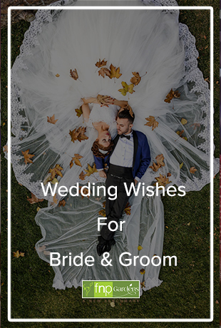 wedding wishes for bride & Groom