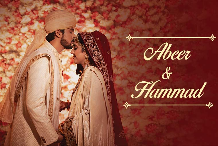 Real Wedding- Hammad and Abeer