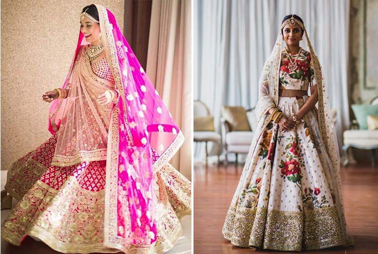 Still confused between single or double dupatta for your wedding day? Here's a little help!