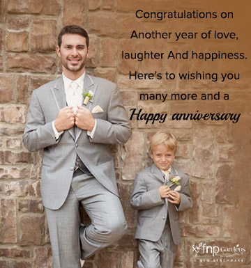 2nd wedding anniversary wishes for brother
