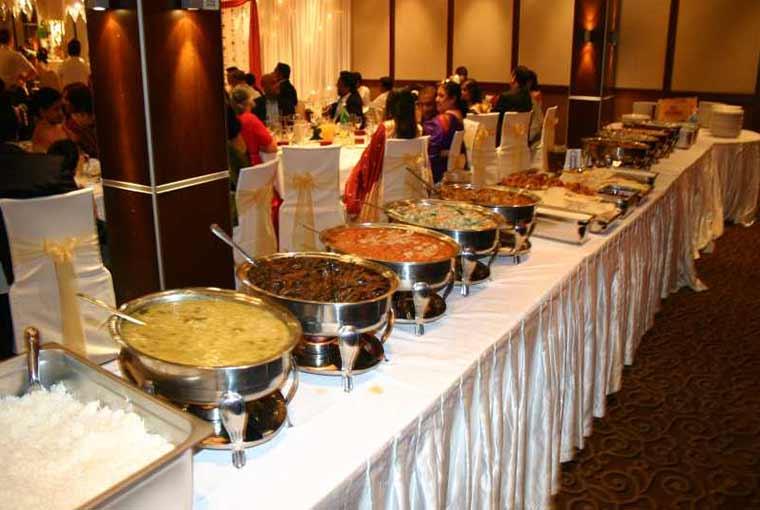 Food at weddings