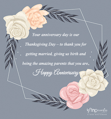 Best Wedding Anniversary Wishes For Parents