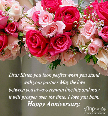 Wedding Anniversary Wishes For Sister Fnp Gardens Best anniversary wishes to the cutest couple in the world. wedding anniversary wishes for sister