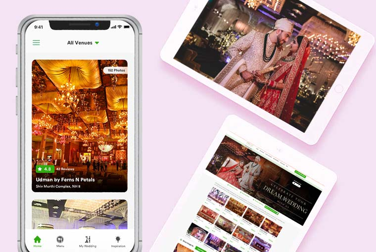 What role technology is playing in Indian Weddings?