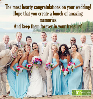 happy wedding quotes for friend