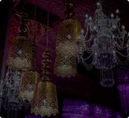 Chandelier wedding venues decor