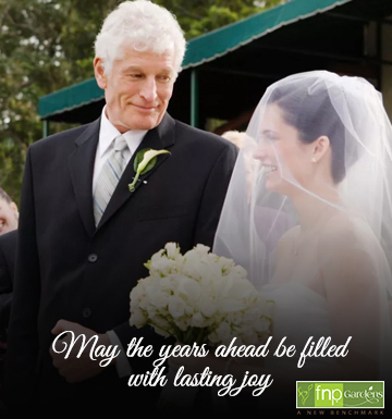 wedding best wishes for daughter