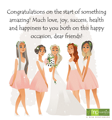 wedding wishes for childhood friend
