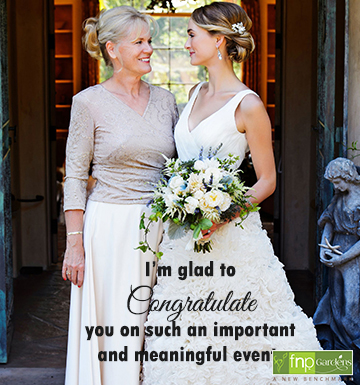 wedding wishes for daughter from parents