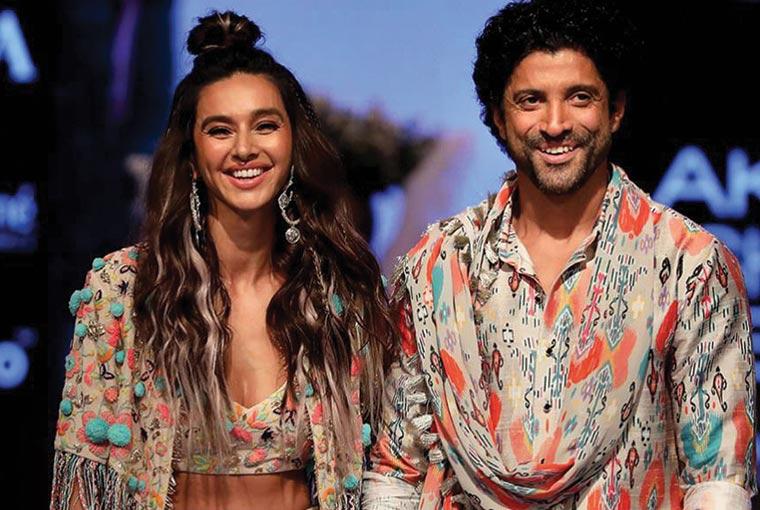 Farhan Akhtar and Shibani Dhandekar