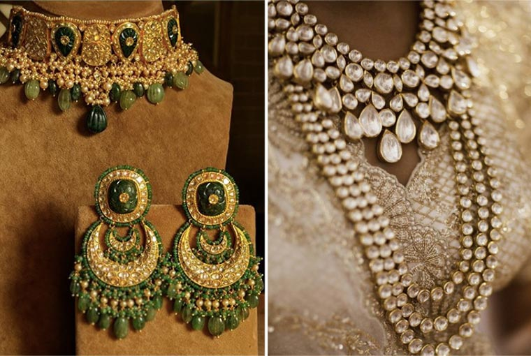 How much do polki and Kundan sets cost?