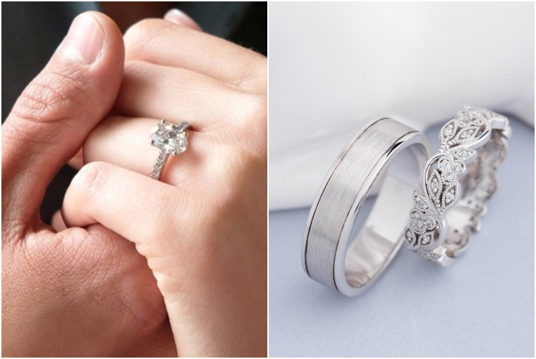 A guide to know the difference between Solitaire and Diamond Rings