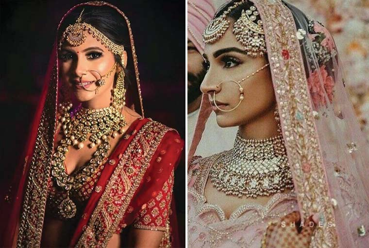 Choker vs Layered Necklace! Which one to go for your wedding?