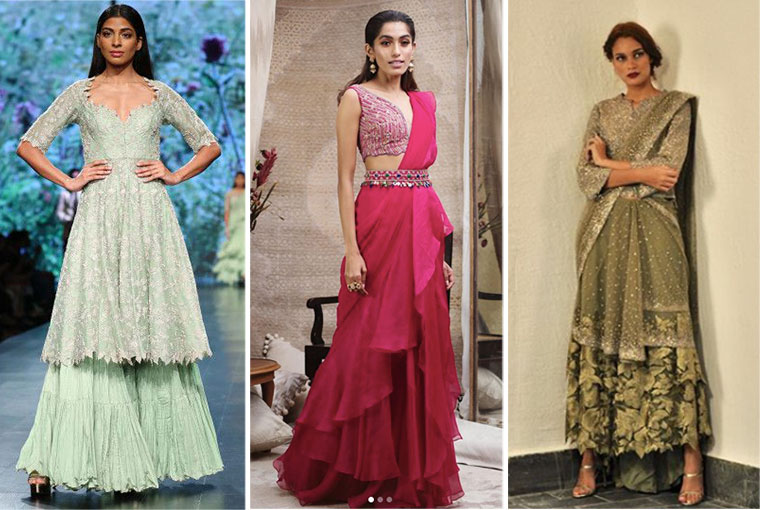 7 Amazing Labels for your Mehendi Outfit