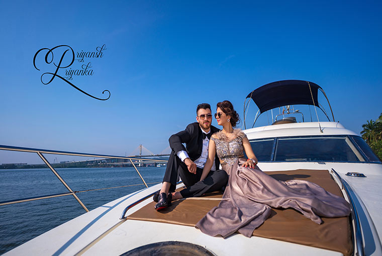 How to nail a pre-wedding shoot in an arranged setting?