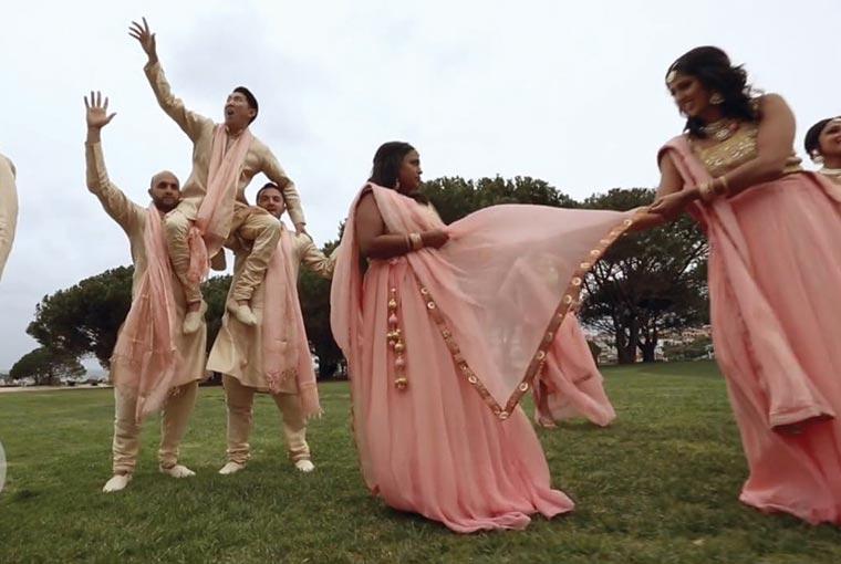 Freeze Frame game at Indian weddings