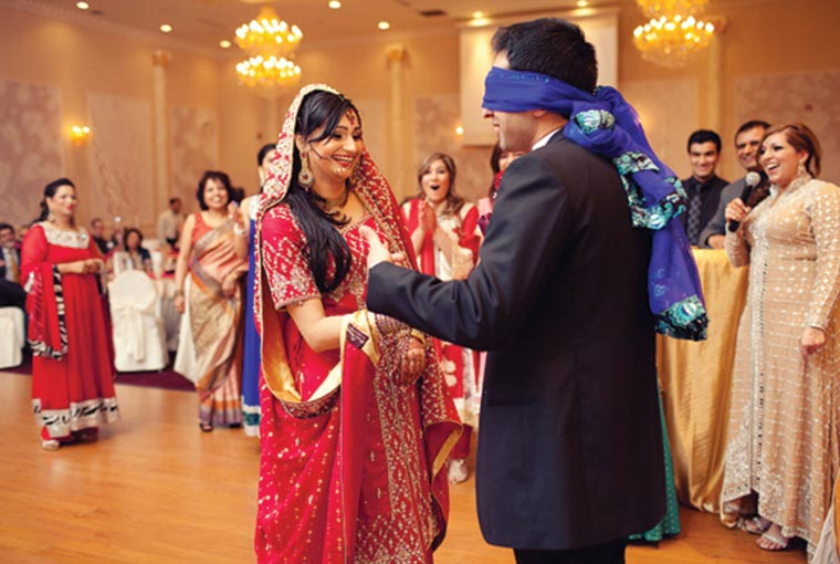 identify your bride game at indian weddings