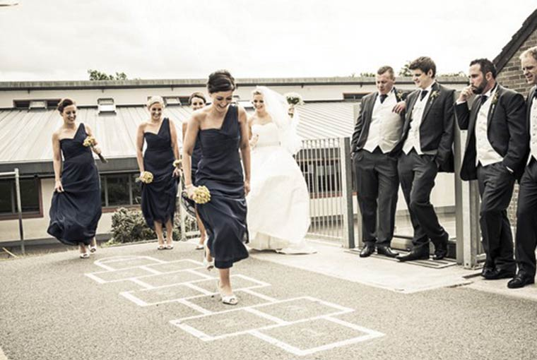 Hopscotch at indian Weddings
