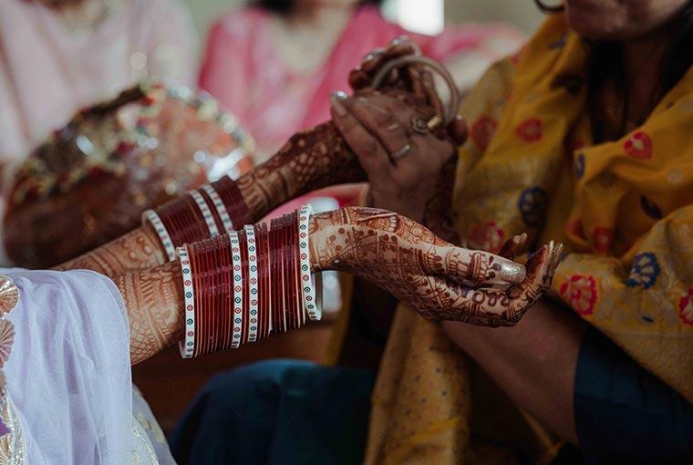 Chooda ceremony