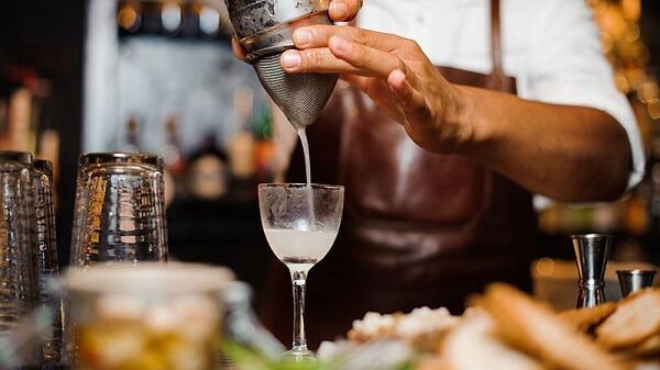 Ajay Kumar bartender