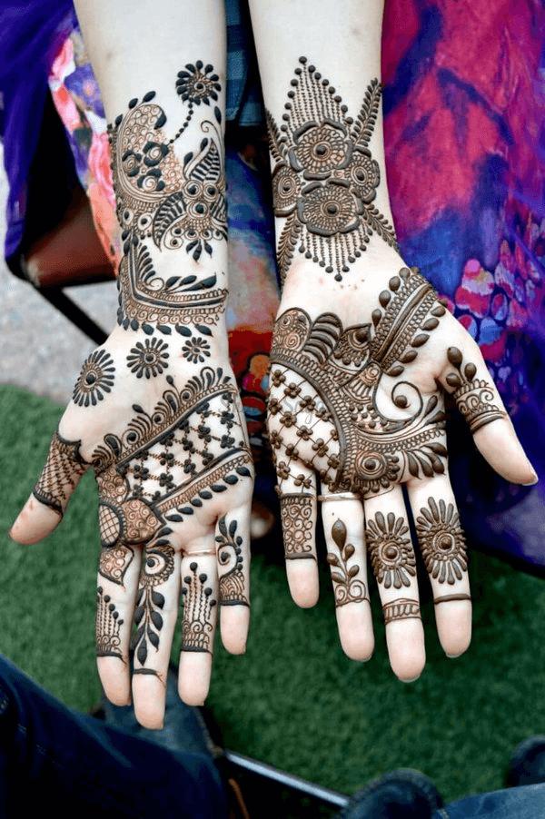 Rajasthani Mehendi Art