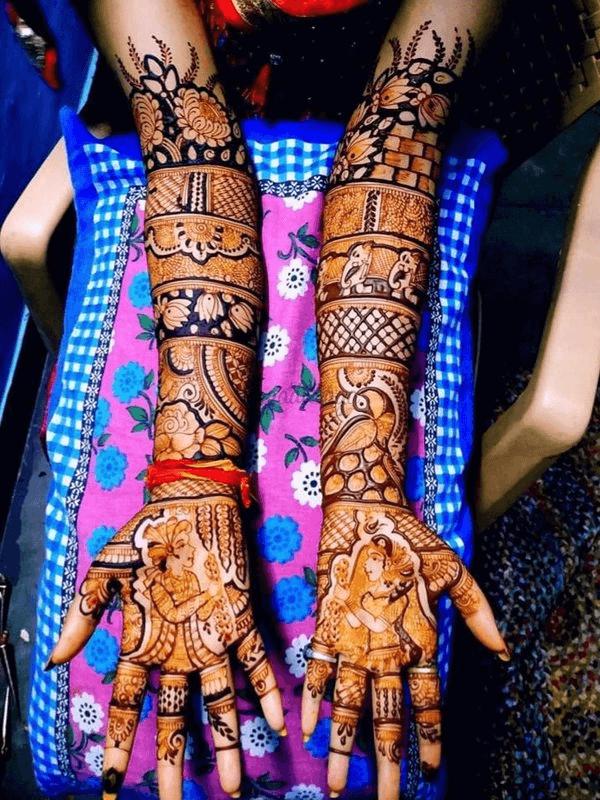 Saksham Mehendi Art