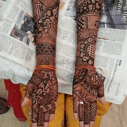 Wedding Mehendi Art