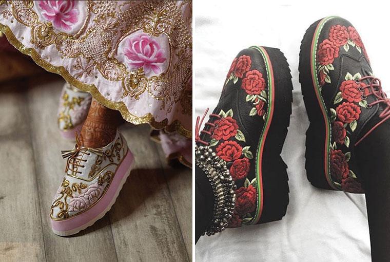 Bridal Sneakers from Banjaaran
