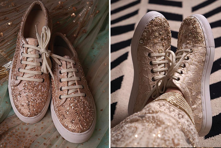 Bridal Sneakers from Coral haze