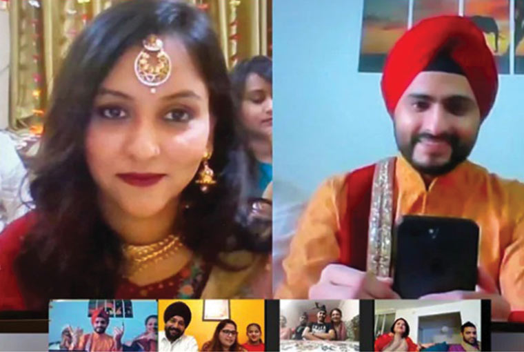 #QuarantineSpecial: This virtual wedding amid Covid-19 proves that love knows no restrictions